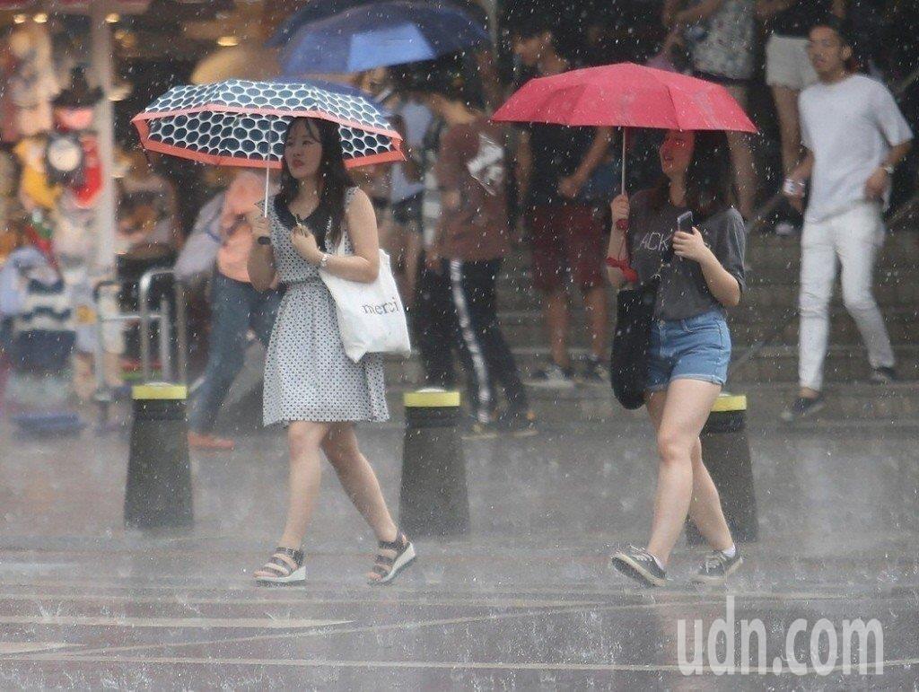 梅雨季。聯合報系資料照片