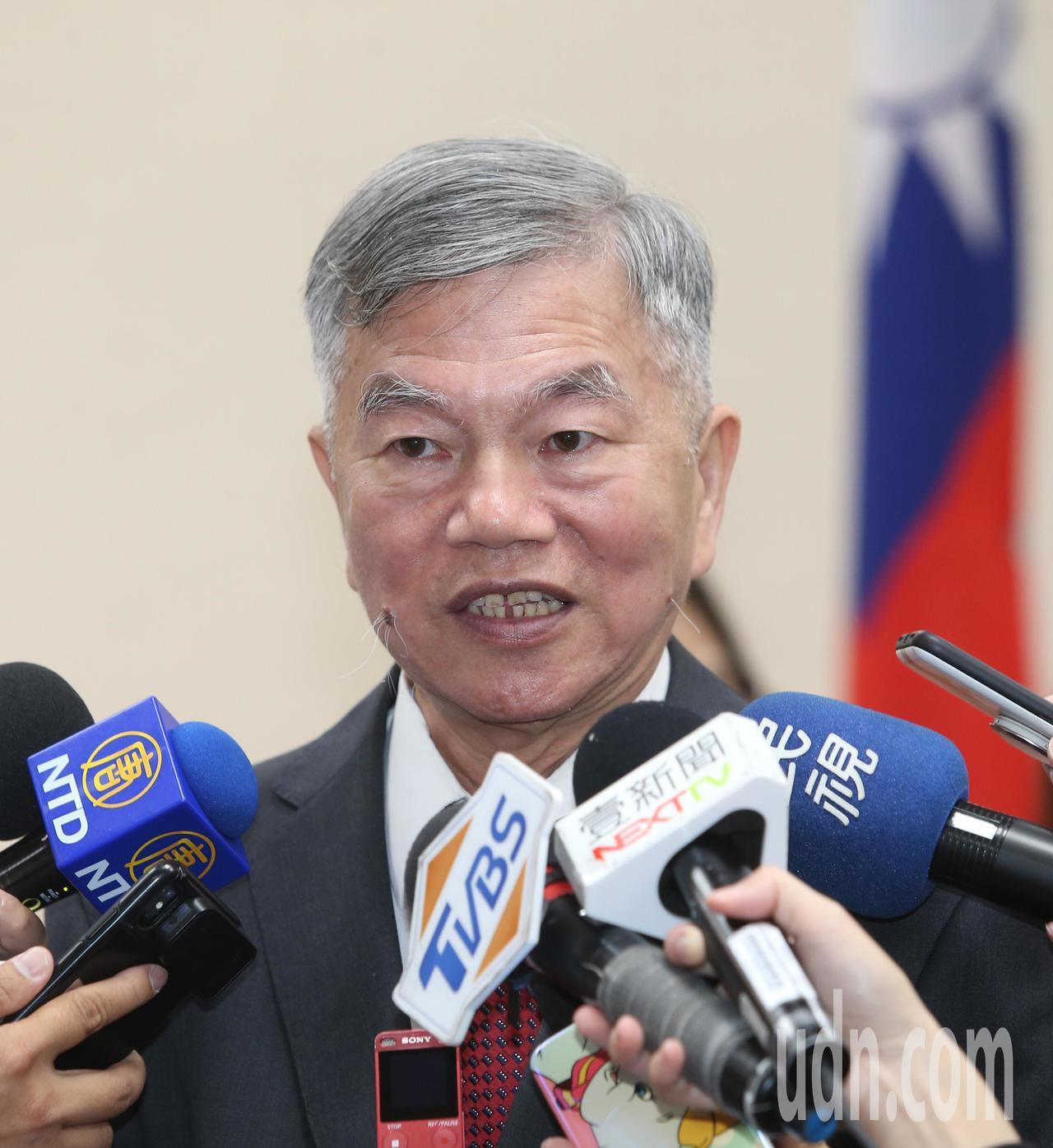 經濟部長沈榮津。記者曾吉松/攝影