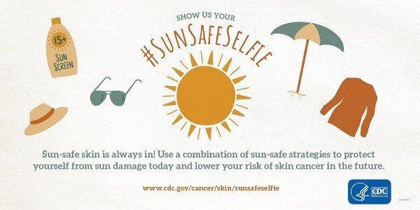 隨著夏季腳步漸近,日曬造成的皮膚傷害風險提高,美國疾病管制局近日加強防曬衛教宣導...