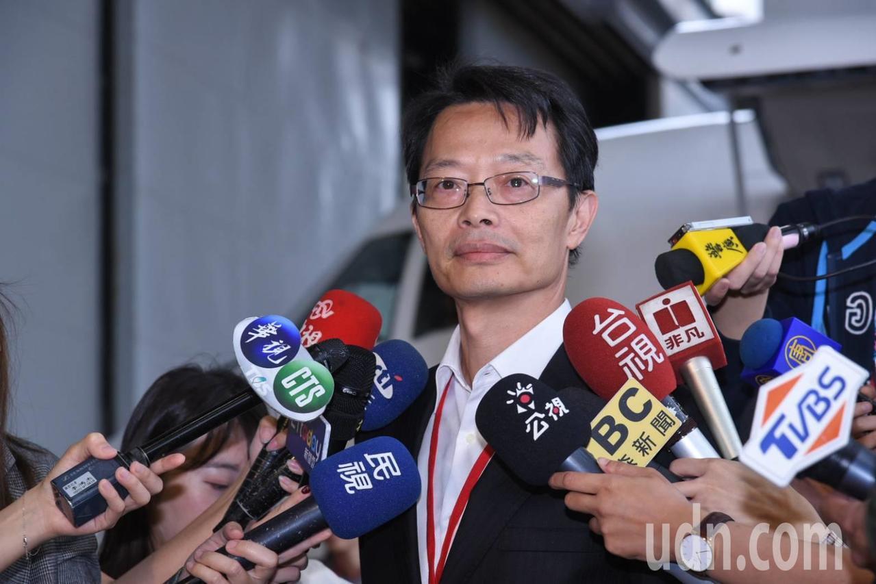 民航局標準組長林俊良。記者曹悅華/攝影