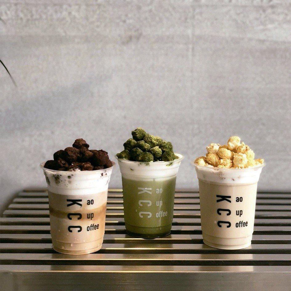 KAO CUP COFFEE的爆米花特調。