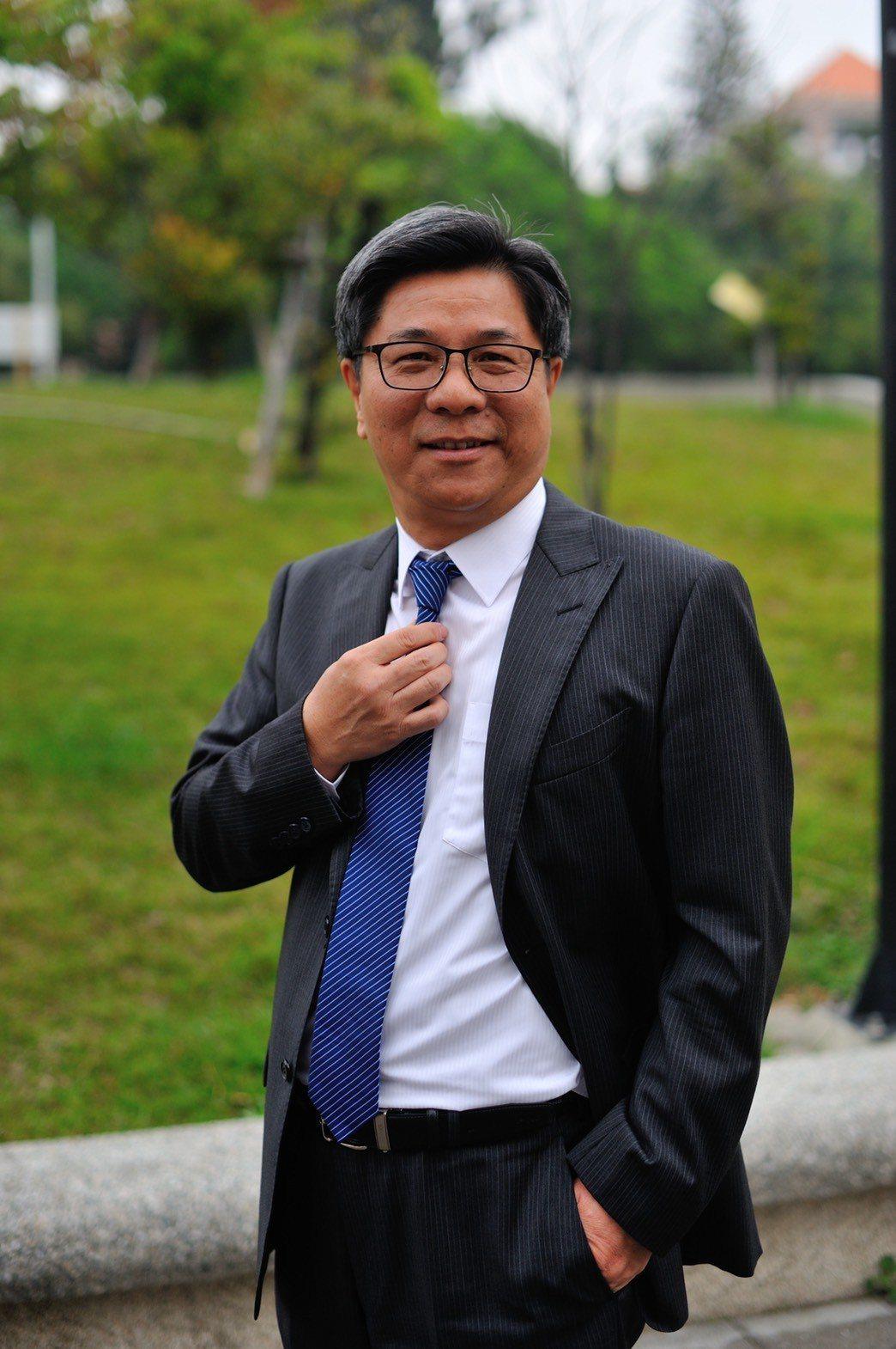 嘉義市文化局新任局長蕭柏勳曾任劍湖山集團總經理。照/蕭柏勳提供