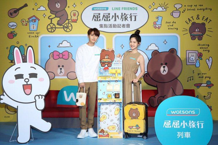 屈臣氏與LINE FRIENDS合作,於5月30日至7月31日推出「屈屈小旅行」...