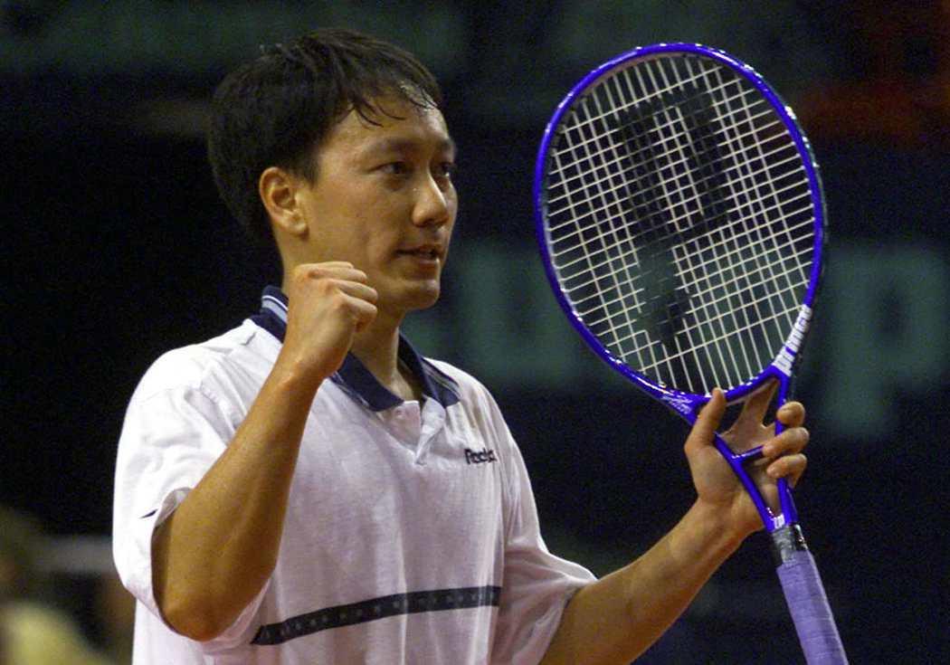 張德培至今仍是唯一拿過大滿貫男單冠軍的華裔選手。(路透)