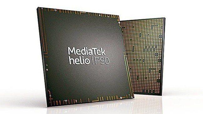 聯發科Helio P90晶片。圖/聯合報系資料照片,聯發科提供