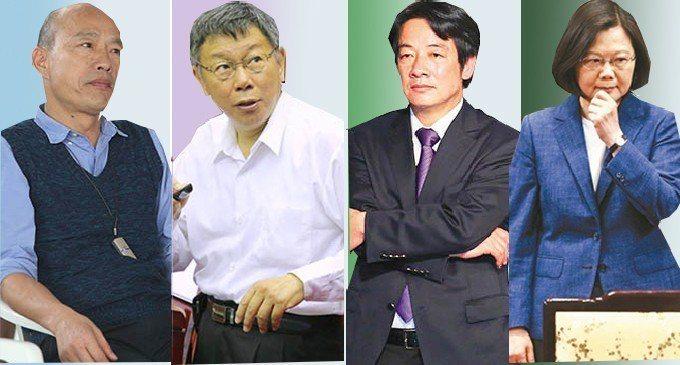 媒體人吳子嘉透露,他將公布最新民調,韓國瑜已不再是第一名,已經落在第2或第3,且...