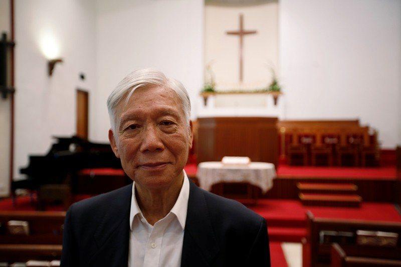 佔中三子之一的牧師朱耀明,也是當年黃雀行動的關鍵人物,攝於2019年5月28日,香港。 圖/路透社
