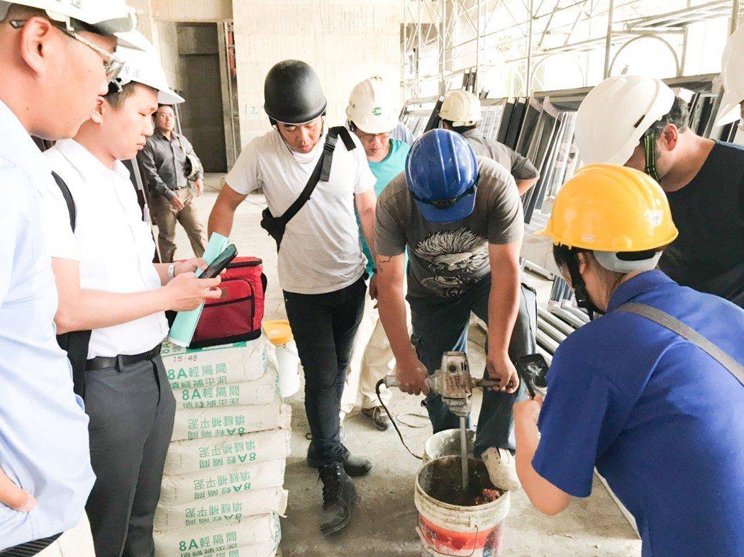 建商買好的材料,也要施工單位按照標準操作,才能發揮好建材的功能。