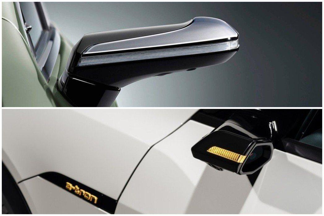 全球目前僅有Audi e-tron與日規Lexus ES300h配備數位後視鏡,...