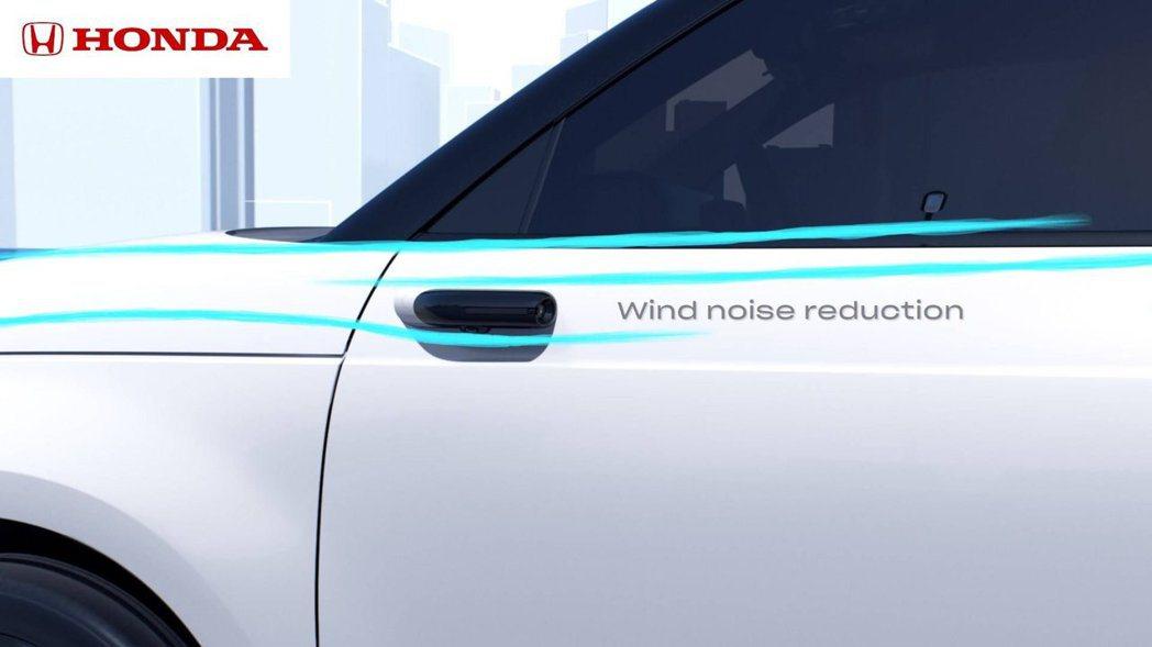 配置數位後視鏡的Honda e還能因此降低車輛風阻。 摘自Honda