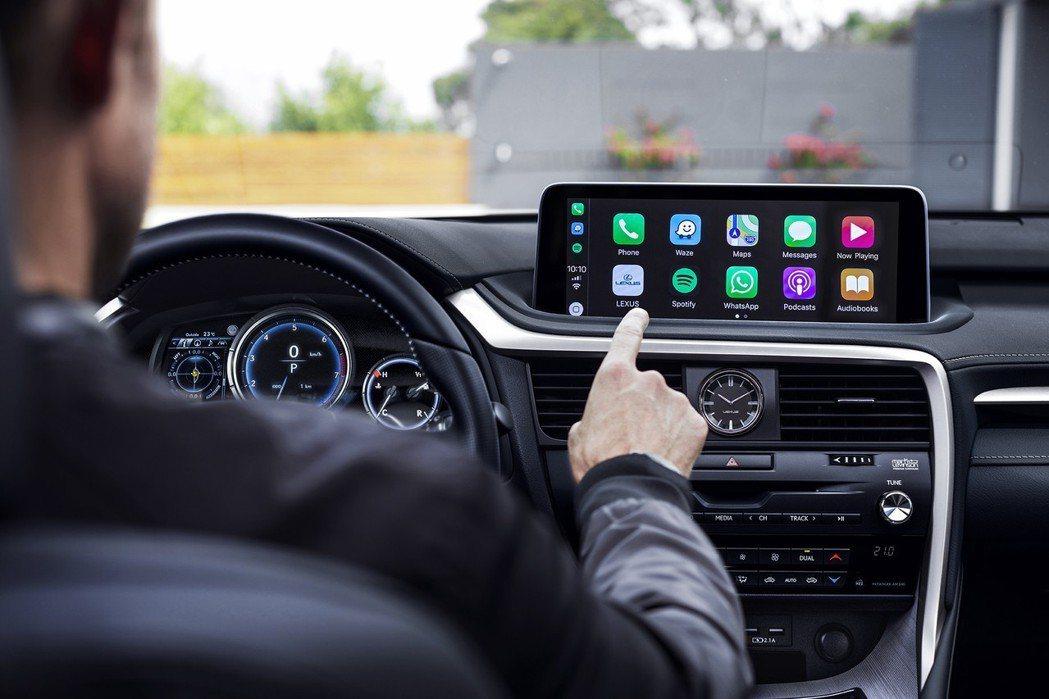 RX小改不僅有Apple Carplay,就連Android Auto也支援。 ...