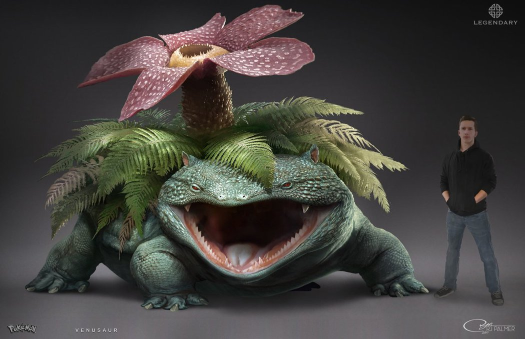 看起來具有壓倒性力量的妙蛙花(圖片來源)