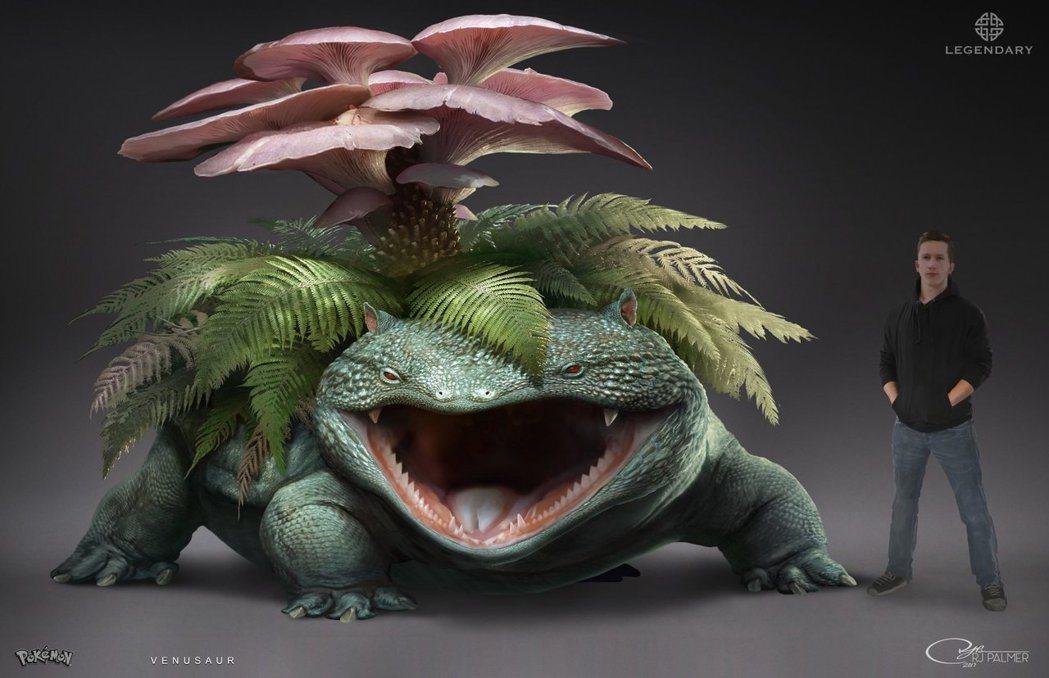 背上長菇的妙蛙花?(圖片來源)