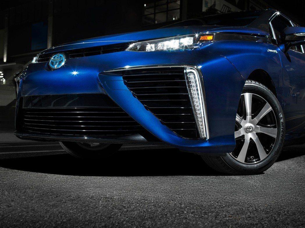 Toyota Mirai是目前市面上少見的氫燃料車。 摘自Toyota