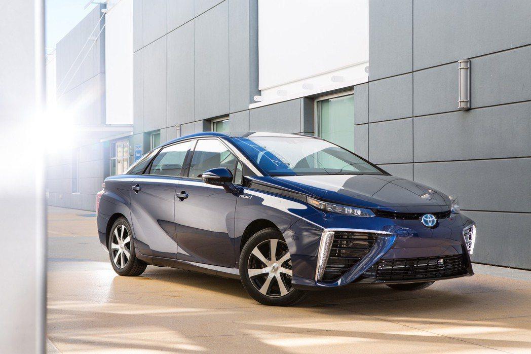 Toyota Mirai。 摘自Toyota