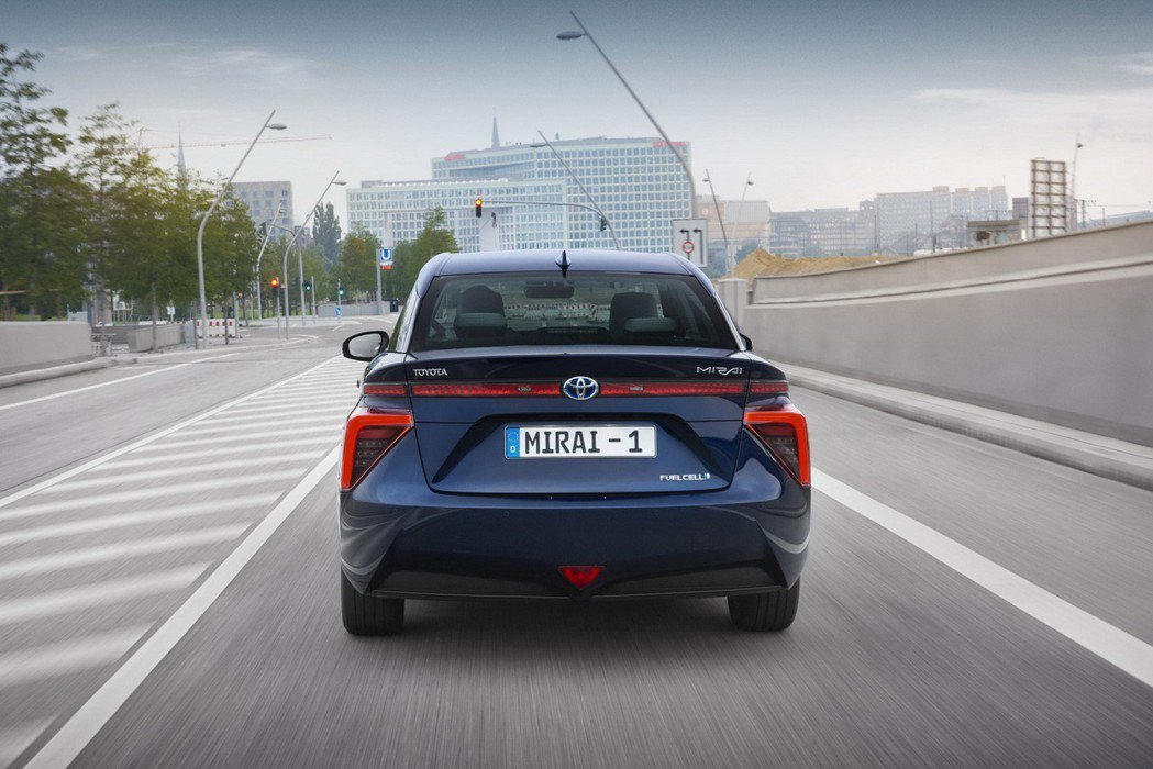 Toyota認為氫燃料車款在未來具有相當大的潛力。 摘自Toyota