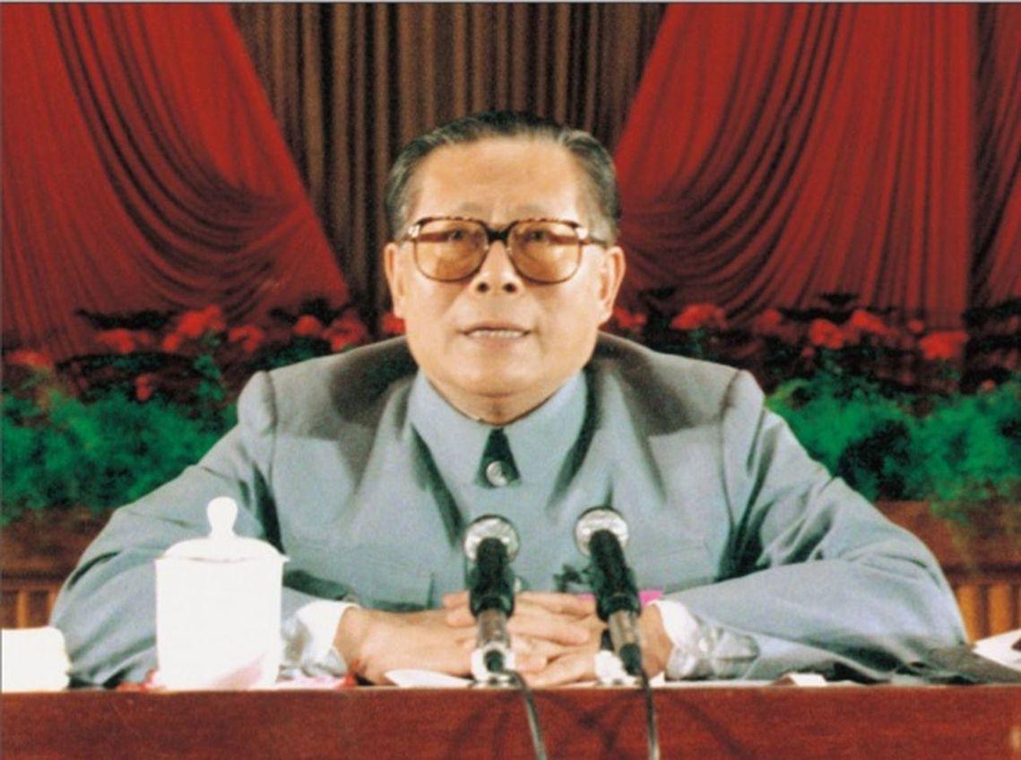 1989年5月30日,江澤民的政治人生正開始走上中共權力舞台的核心。 圖/新華社