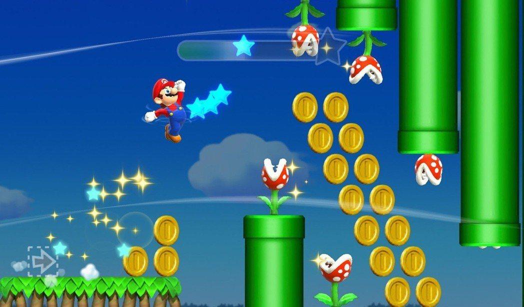 《超級瑪利歐酷跑》是任天堂開發的手遊