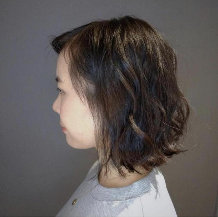 髮型創作/墨子 I Mozi / 台北東區剪髮Edgar。圖/StyleMap提...