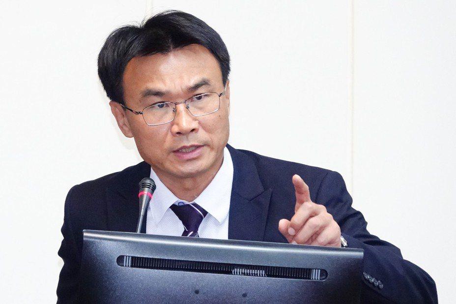 農委會主委陳吉仲。記者王騰毅/攝影