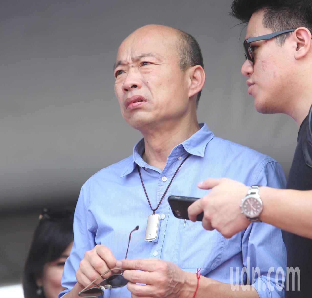 高雄市長韓國瑜鬆口說要參加國民黨總統初選,引來原來支持者的不同看法。本報資料照片