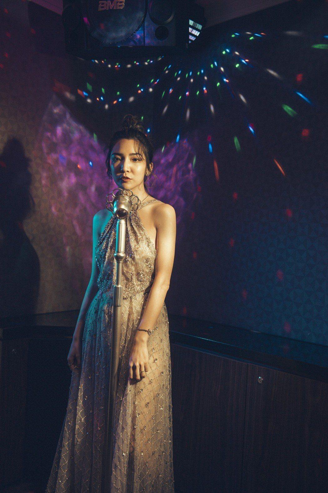 高雋雅挑選婚紗禮服有自己想法。圖/海納百川提供