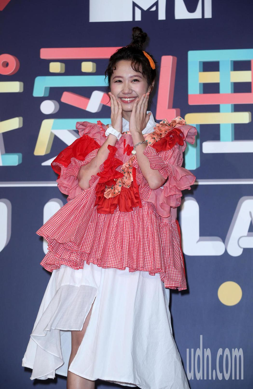 三立節目「我愛偶像Lulu Land」主持人公布和改版記者會,主持人lulu出席...