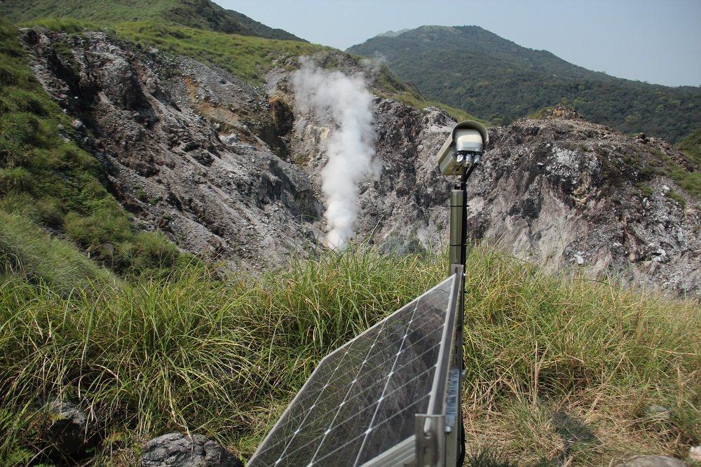 政府持續投入臺灣北部火山調查、觀測與監測,掌握火山動態。 圖/地調所提供