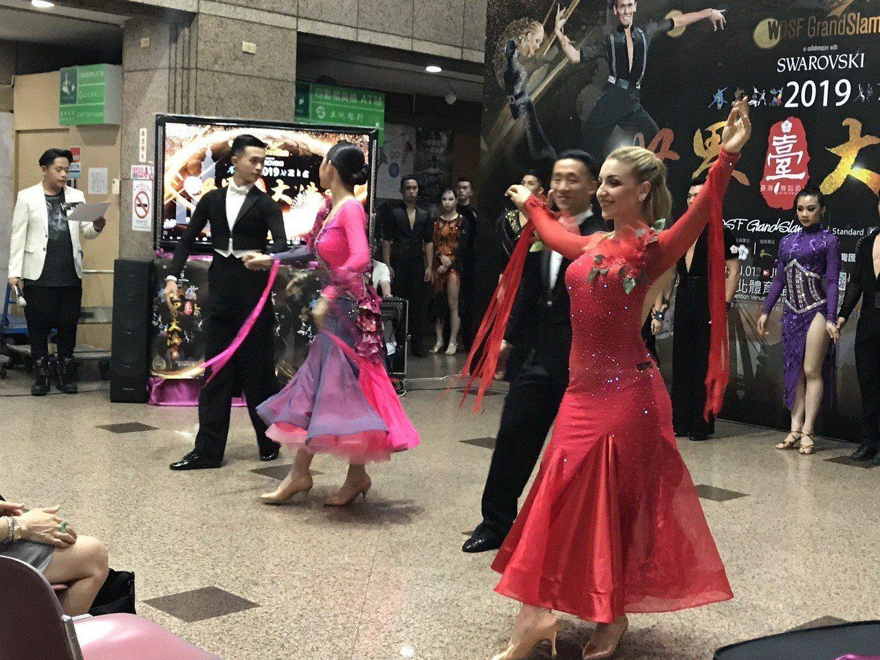 2019年WDSF台灣舞蹈節世界大滿貫積分賽本周末在紅館舉行。記者毛琬婷/攝影