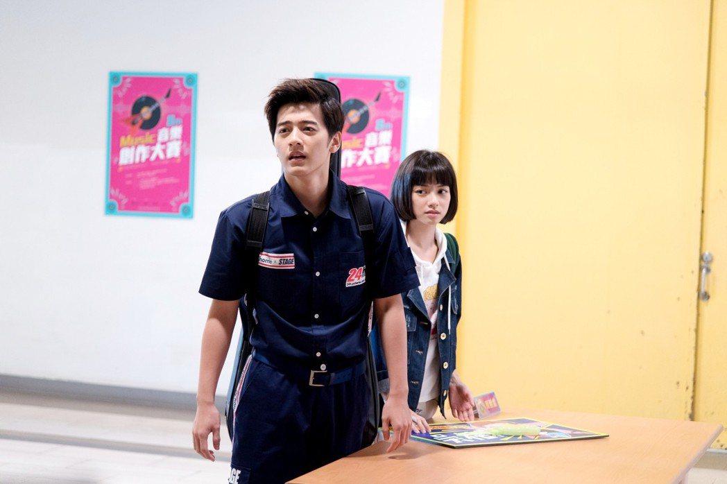 李宗霖(左)在「一千個晚安」中有吃重演出。圖/三立提供
