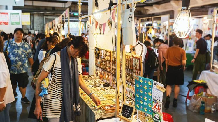 2019日本手作職人創意市集第三回,這次集結200個品牌同步開展。圖/愛手創粉絲...