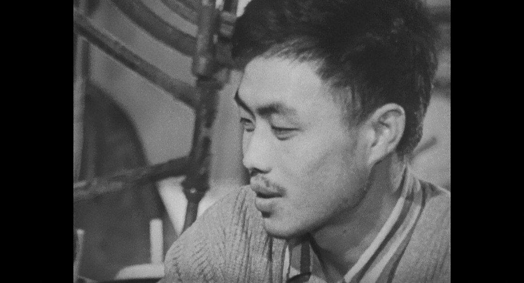 牟敦芾年輕時曾在經典紀錄片「上山」亮相。圖/國家電影中心提供