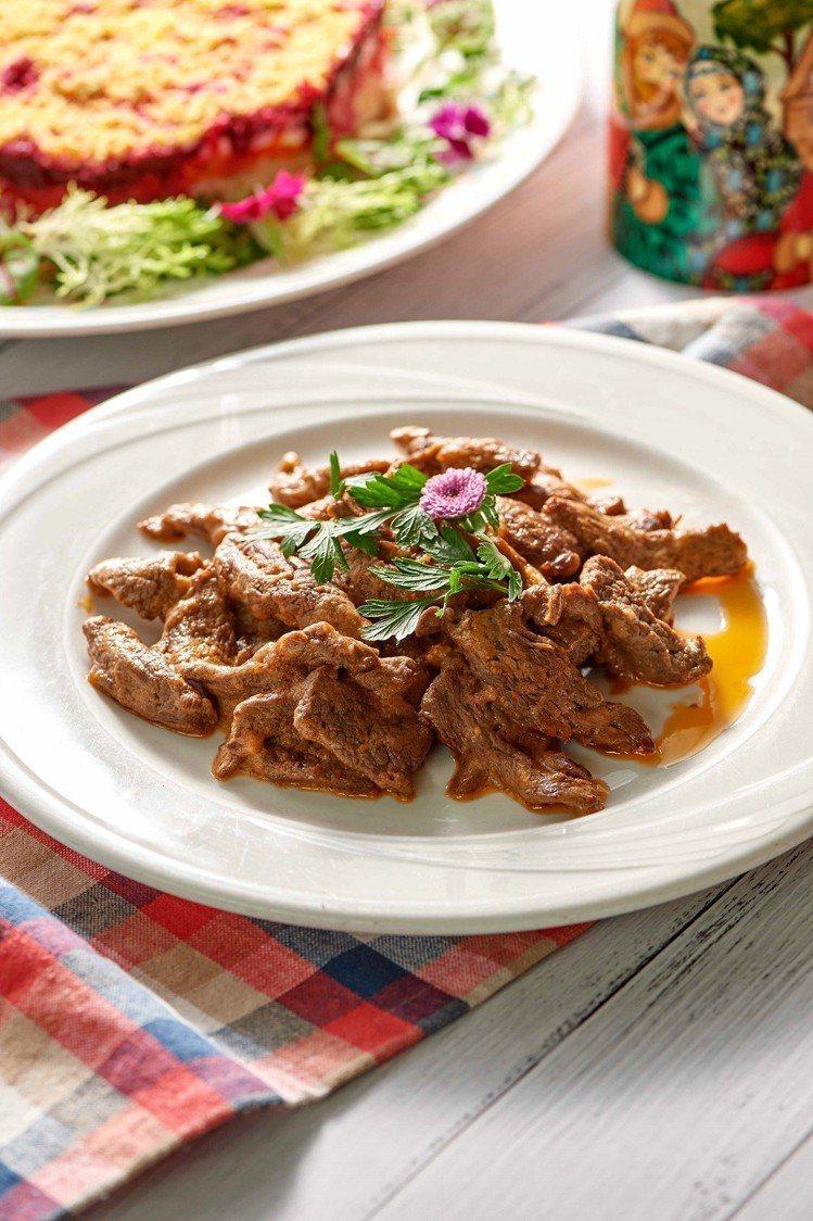台北福華飯店自6月1日起至6月30日,舉辦「俄羅斯美食節」。圖/台北福華飯店提供
