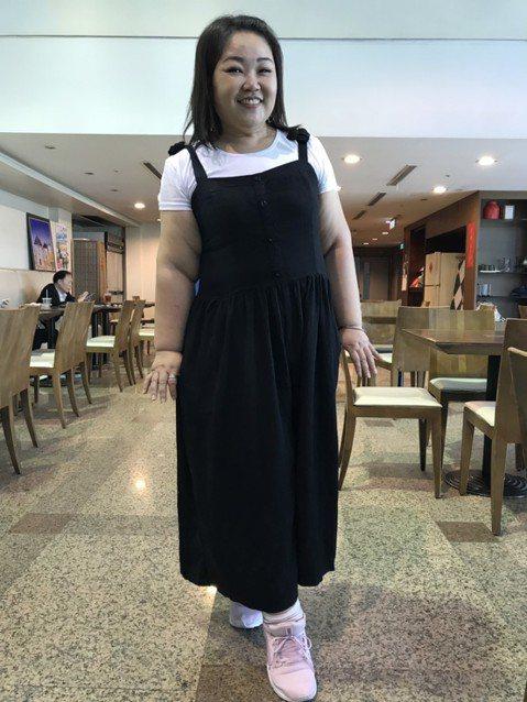 廖慧珍體重破百公斤,一直是演藝圈裡的棉花糖女孩,她其實很冤,食量不大,一餐就是一個便當,也沒吃宵夜,出道至今胖了30公斤,最重到117公斤。她說,「我是遺傳性的,全家人都胖。」她花了兩個月,用運動、...