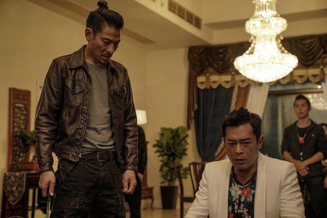 劉德華、古天樂在「掃毒2 天地對決」合作,深受觀眾期待。圖/華映提供
