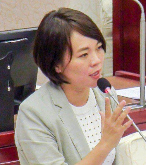 民進黨新潮流台北市議員簡舒培。 聯合報系資料照