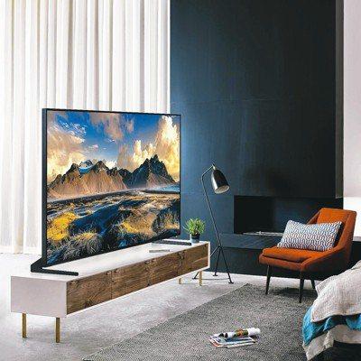 三星QLED量子電視不僅帶給消費者令人讚嘆的觀賞體驗,更結合智慧與美型的外型和功...