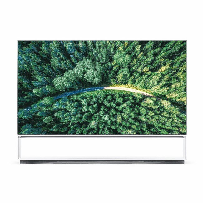LG全球首款88吋Z9 OLED 8K電視。 圖/各業者提供