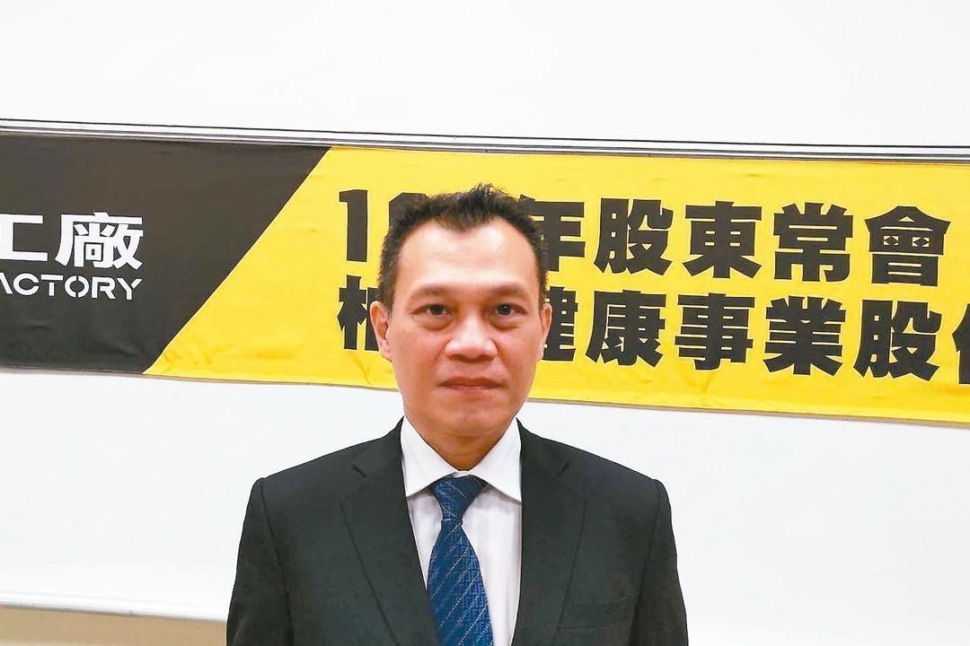 柏文董事長陳尚義 記者吳秉鍇/攝影