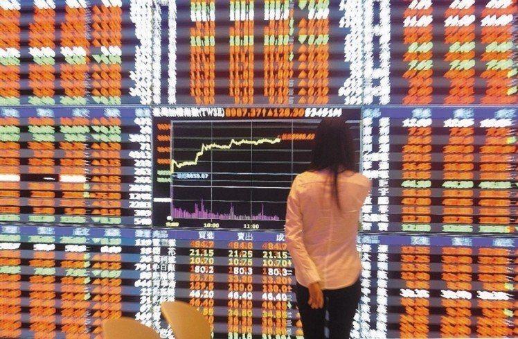 台股今(31)日開小紅震盪走高。圖為示意圖。 圖/聯合報系資料照片