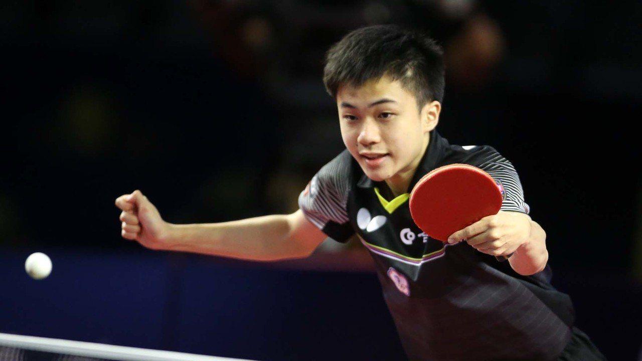 小將林昀儒。 資料照(取自ITTF)