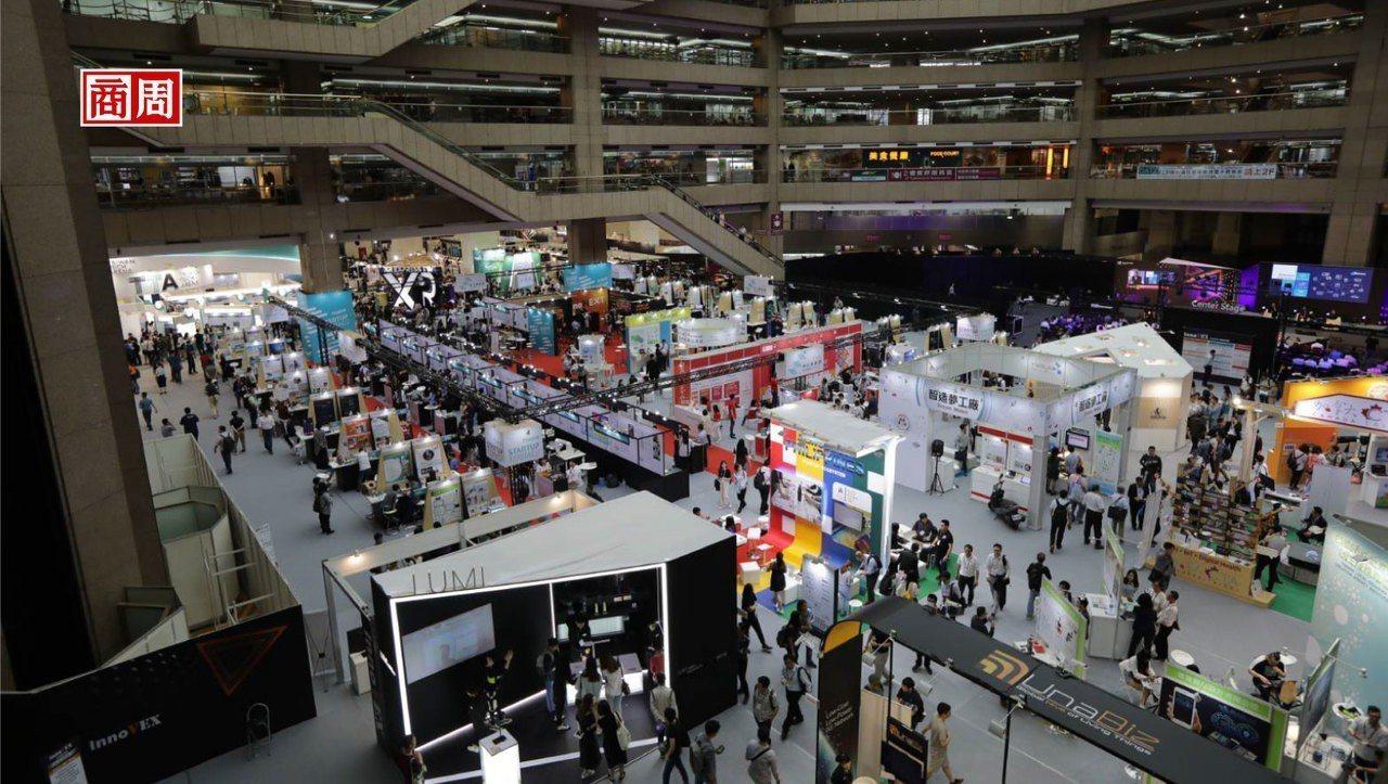 在本屆台北國際電腦展中,筆記型電腦意外成為參展亮點。圖/商業周刊提供