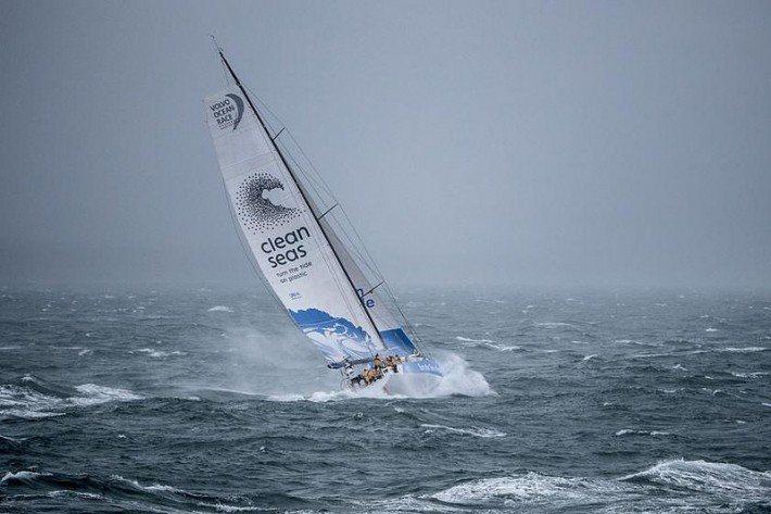 圖說/Volvo Ocean Race 環球帆船賽是世界上最漫長和艱苦的體育比賽...