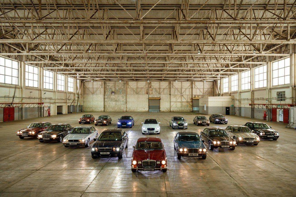 自1968年推出的Jaguar XJ,在2018年迎接車系的50周年紀念。 摘自...