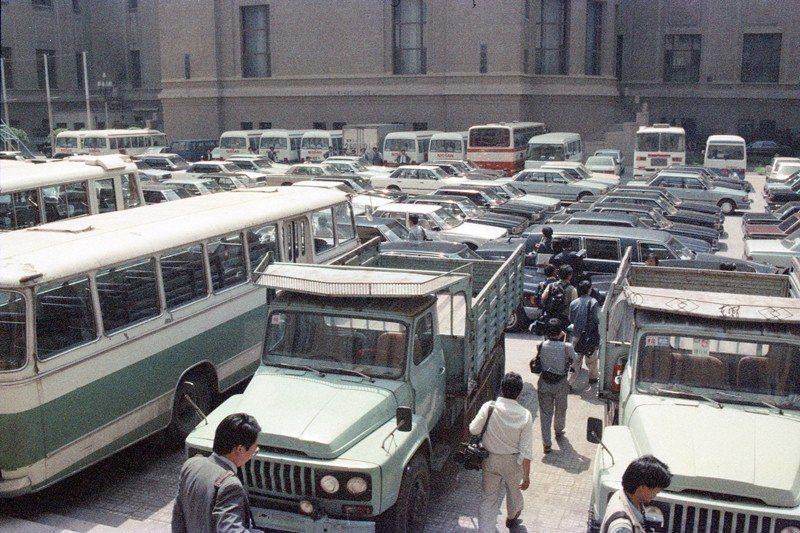 攝於1989年6月4日,北京天安門。 圖/聯合報系資料照