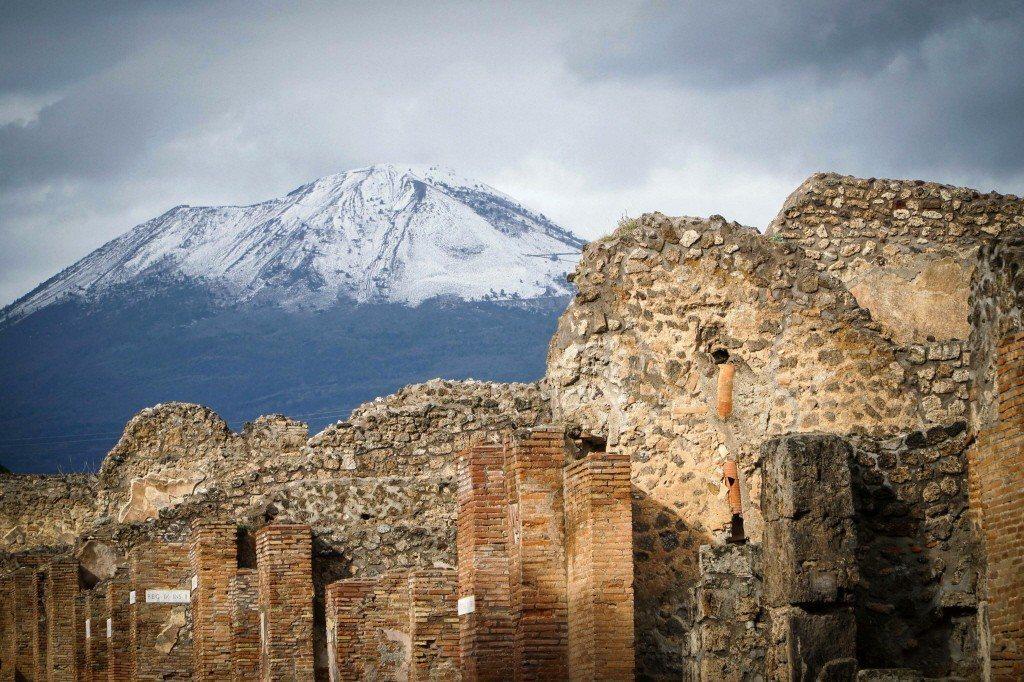 義大利維蘇威火山。 圖/美聯社
