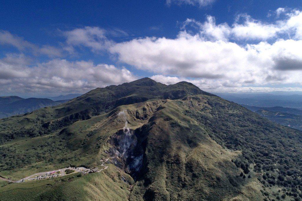 七星山為大屯山彙的第一高峰。 圖/江惠美攝影,陽管處提供