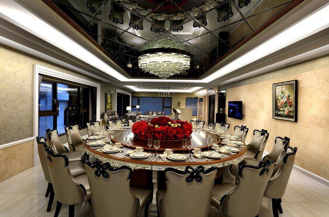 宴會廳。圖片提供/華雄建設
