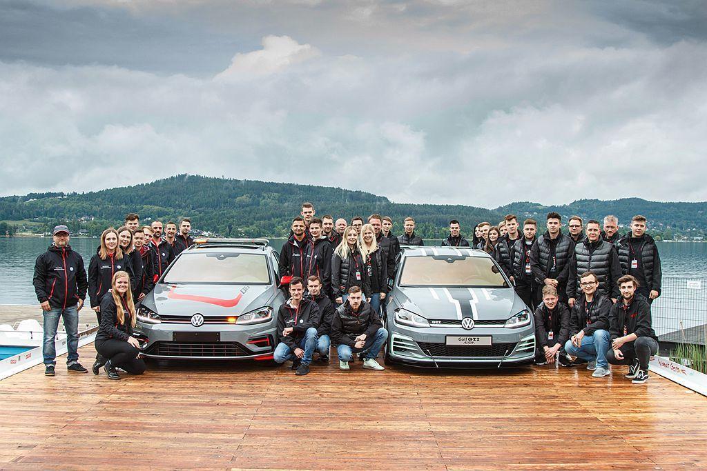 由數名福斯汽車培訓學員打造的概念車,分別以現行第七代福斯Golf GTI以及Go...