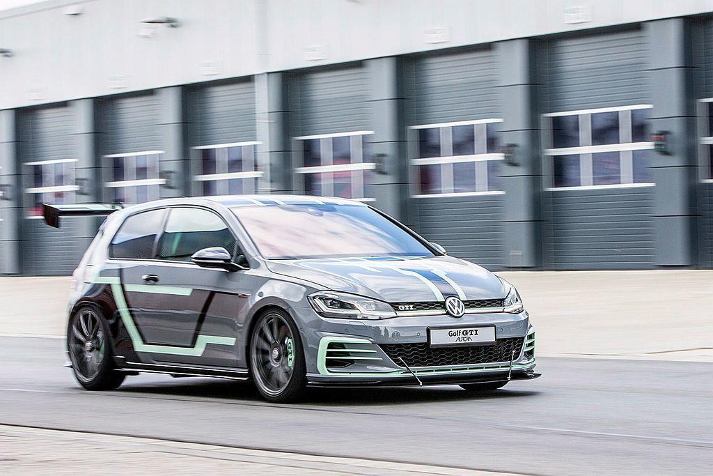 福斯Golf GTI Aurora概念車動力來自現行2.0L TSI直列四缸渦輪...